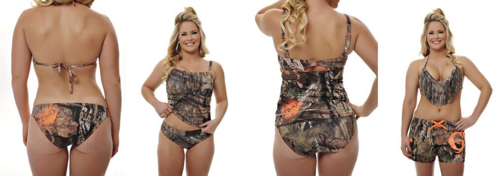 Girls with Guns Mossy Oak Break-Up Country Swimwear