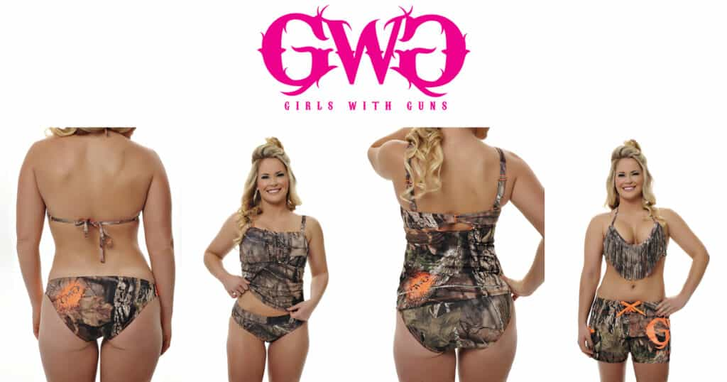 Girls with Guns Mossy Oak Break-Up Country Swimwear