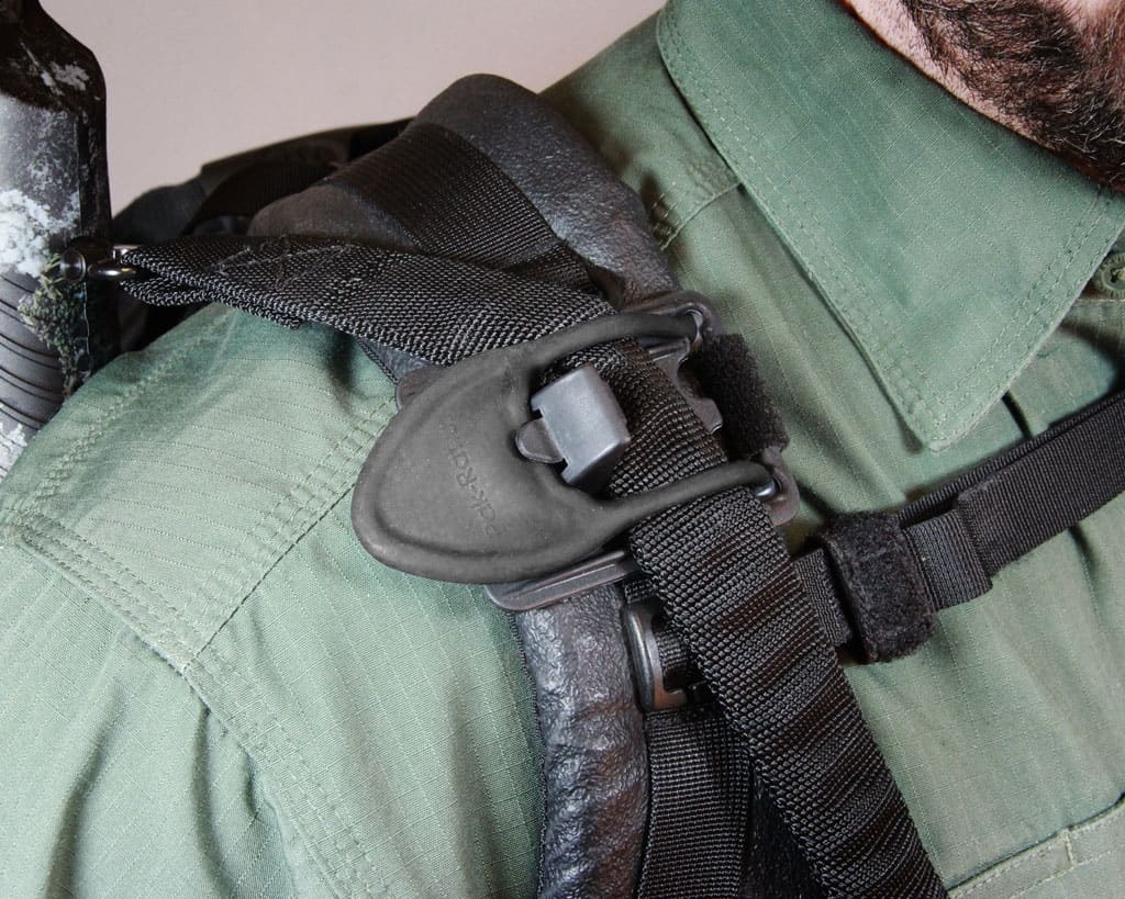 Mossberg Gear Pak-Rat Quick-Clip Accessory in use