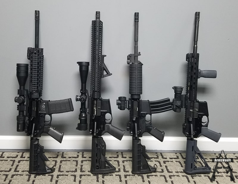 Pre-Shooting Range AR-15 Glamour Shot