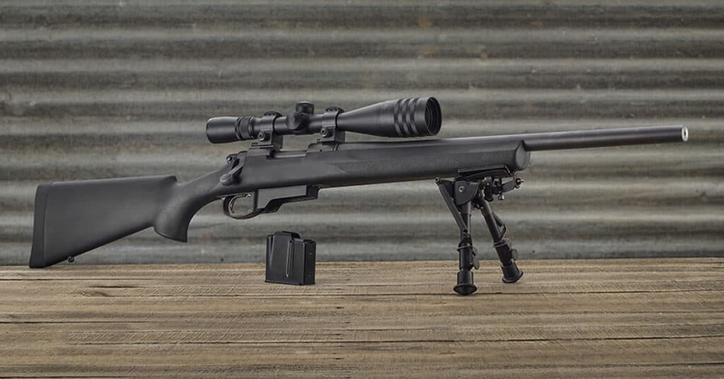 Remington 700 OverMolded Stock with Badger Inlet