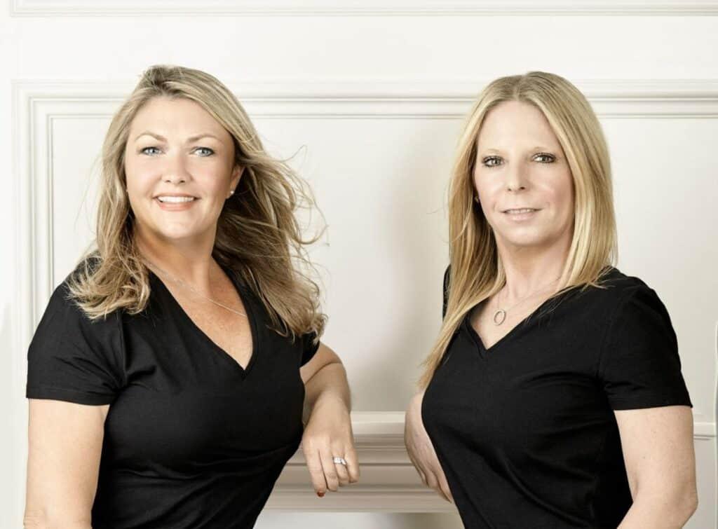 Shirley Steffen and Karin Levine