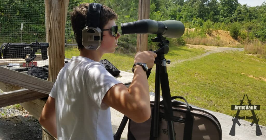 Spotter in Training with Meopta MeoPro HD 80 Spotting Scope