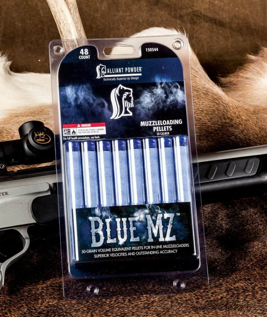 Alliant Powder Blue MZ Pellets for Muzzleloaders
