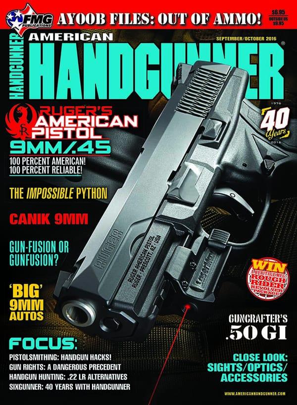 American Handgunner Sep-Oct 2016