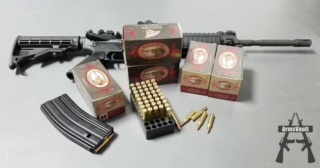 FOG Ammunition - Headwaters Ammunition 223 Rem Hornady 55 Grain Full Metal Jacket
