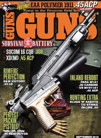 GUNS Magazine - September 2016