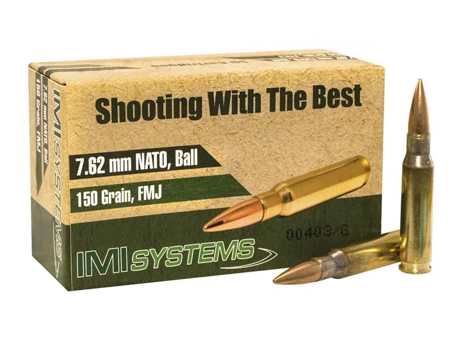 IMI 762x51mm Ammo