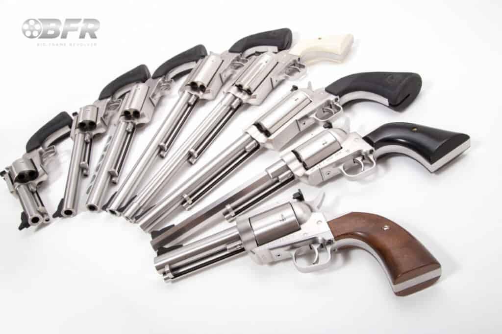 Magnum Research Big Frame Revolvers