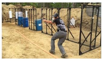 Max Michel at USPSA Area 7 Championship
