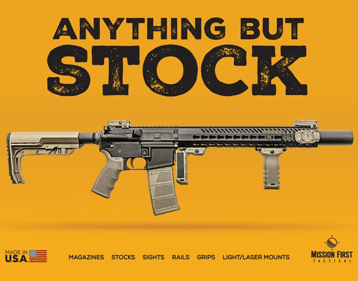 Mission First Tactical - Anything But Stock