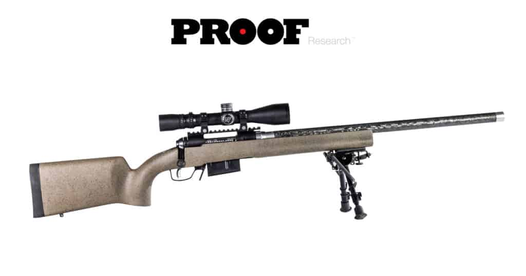 Pre-Fit Carbon Fiber Barrel on Savage Arms Rifle
