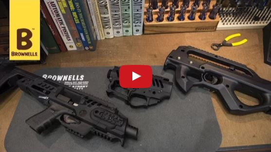 RONI Pistol Conversion and AKLYS Defense ZK-22 10-22 Bullpup Stock at Brownells