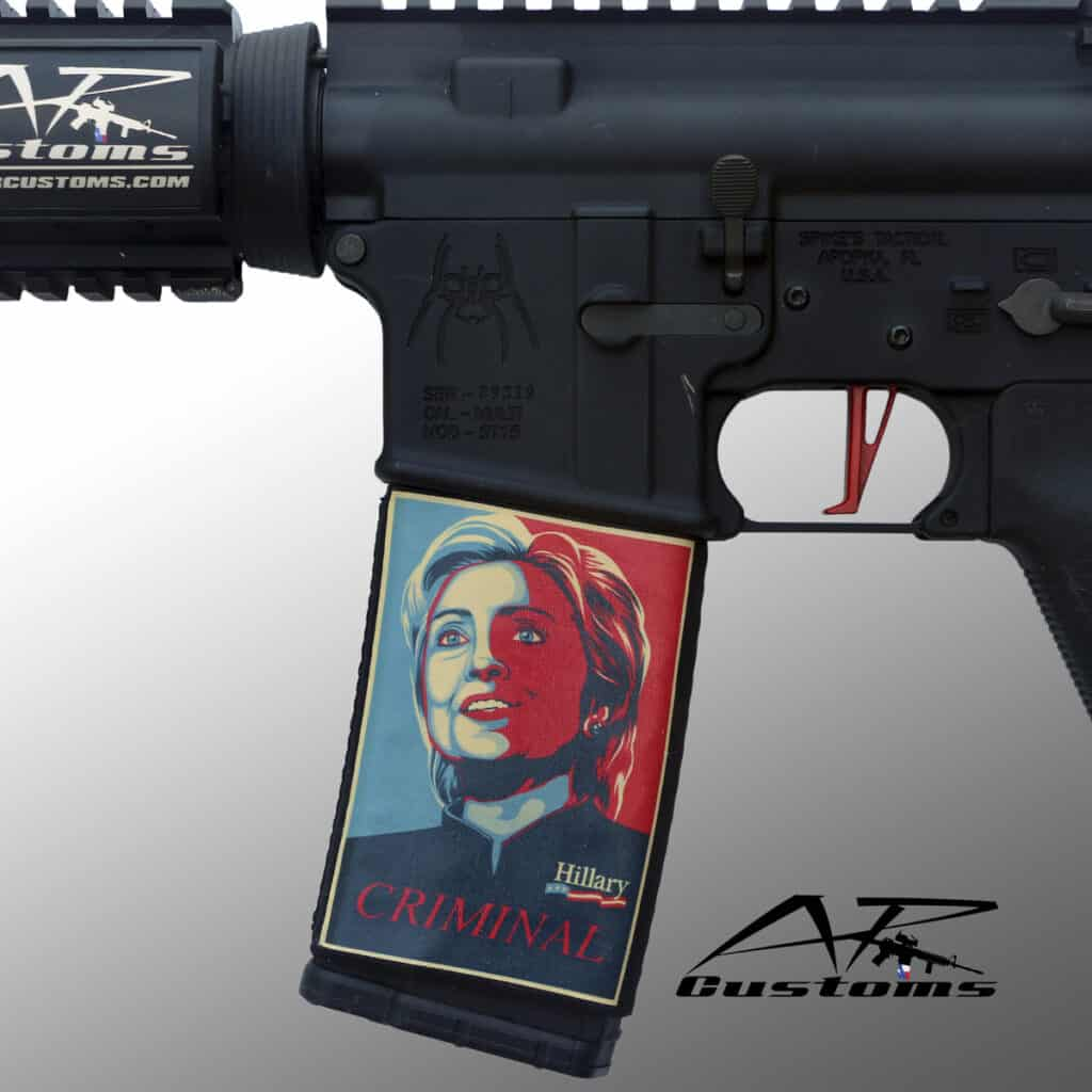 AR Customs AR Soc - Hillary Clinton Career Criminal