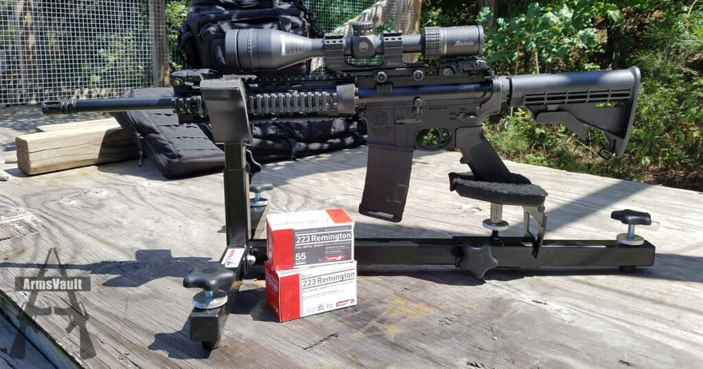 Aguila 223 FMJ Ammo from SW MP15T