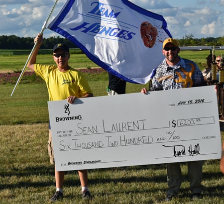 Browning Awards SCTP Scholarship to Sean Laurent