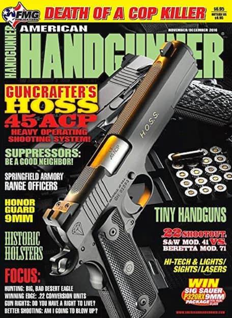 American Handgunner Nov-Dec 2016