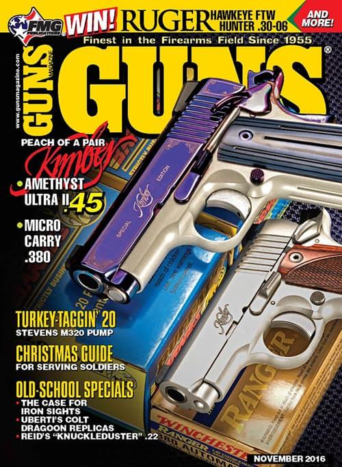 Kimber Amethyst Ultra II 45 ACP and 380 Micro Carry in GUNS Magazine