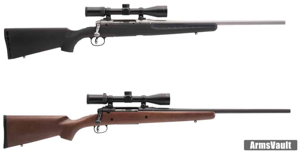 Savage Arms AXIS II - Stainless and Hardwood
