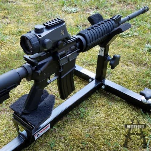 Sig BRAVO4 4x30mm Megaview Battle Sight on Windham SRC