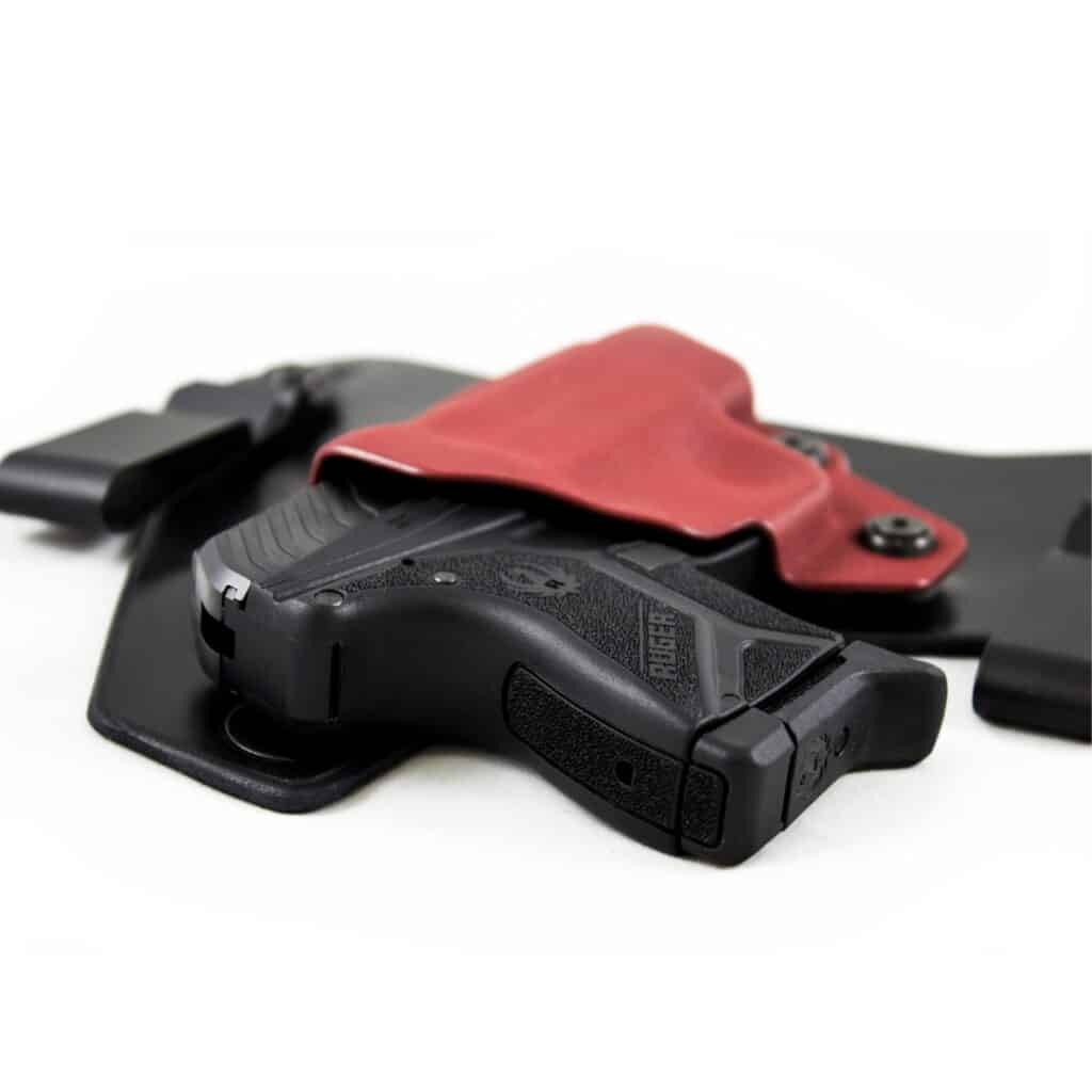 Black Arch Holster for Ruger LCP II