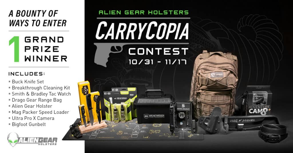 Alien Gear Holsters CarryCopia Giveaway