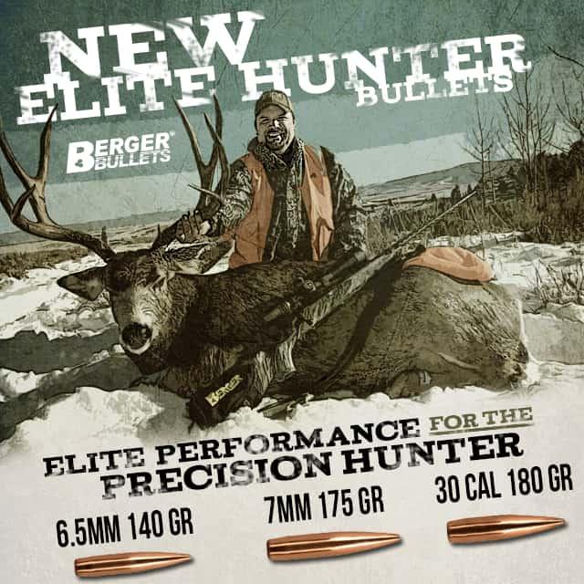 Berger Bullets Releases New Elite Hunter Bullets