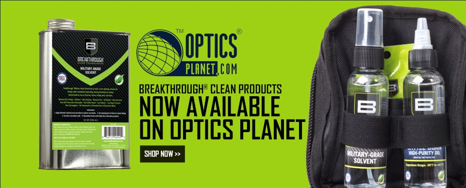 Breakthrough Clean at Optics Planet