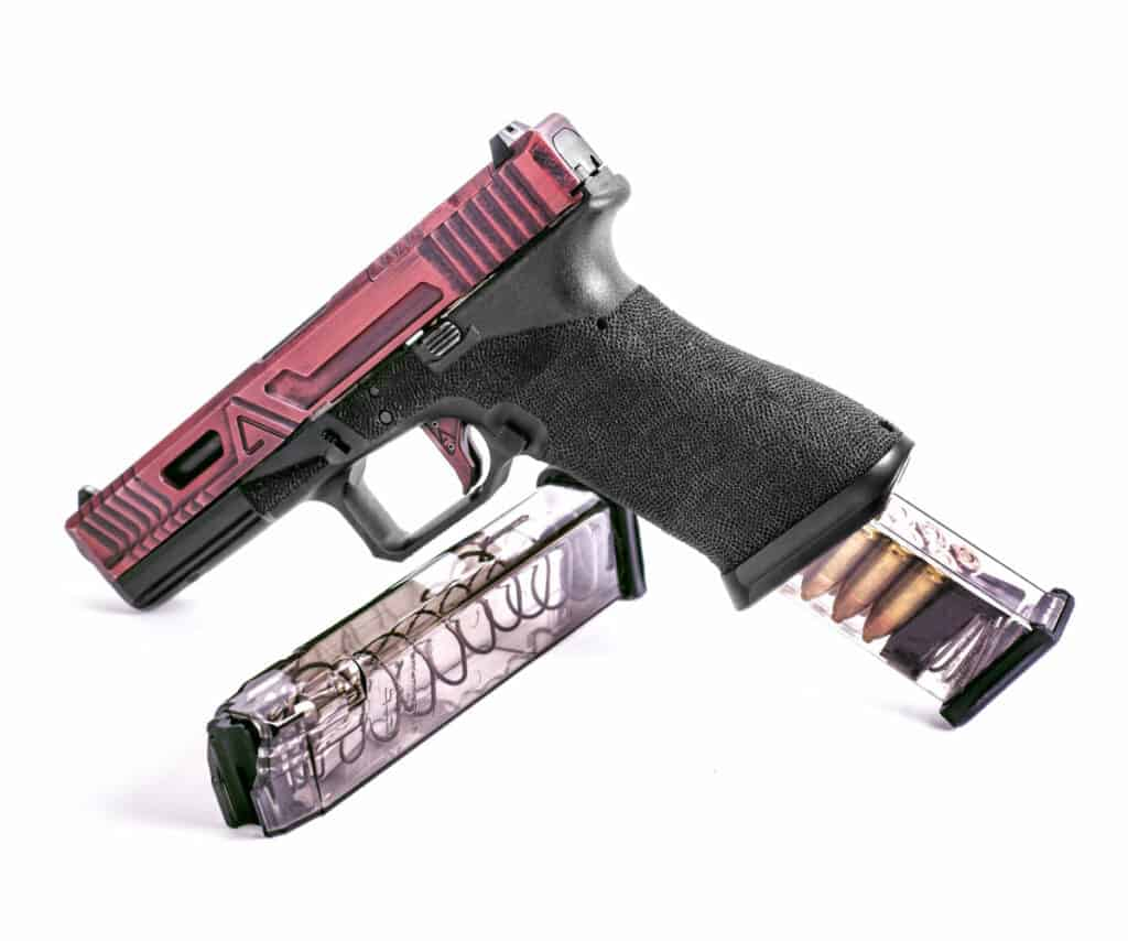 ETS Clear Polymer 9mm Glock Magazine