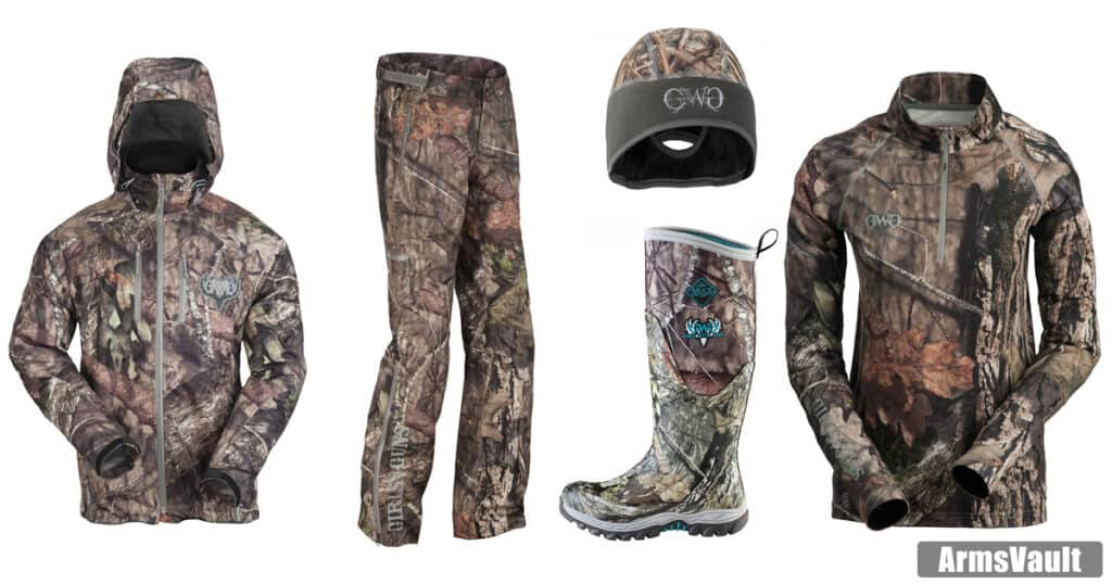 Girls with Guns Clothing Hunting Line for Female Hunters