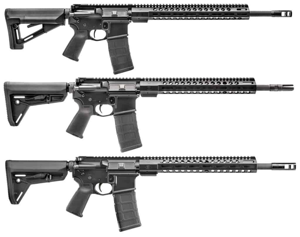 FN 15 Modern Sporting Rifles Featuring M-LOK Handguard