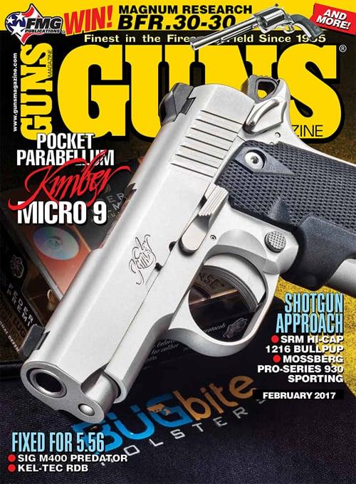 Kimber Micro 9 1911 in GUNS Magazine