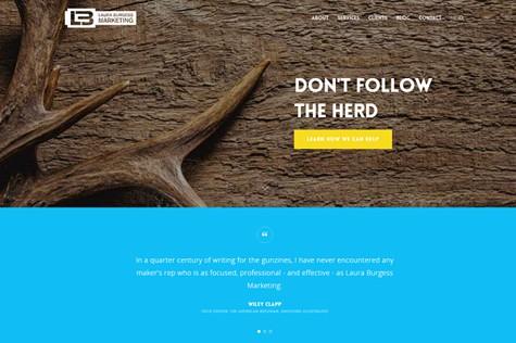 Laura Burgess Marketing Launches New Website