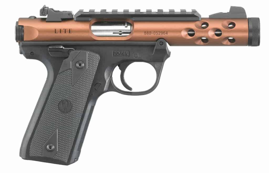 Ruger Mark IV 22-45 Lite Bronze