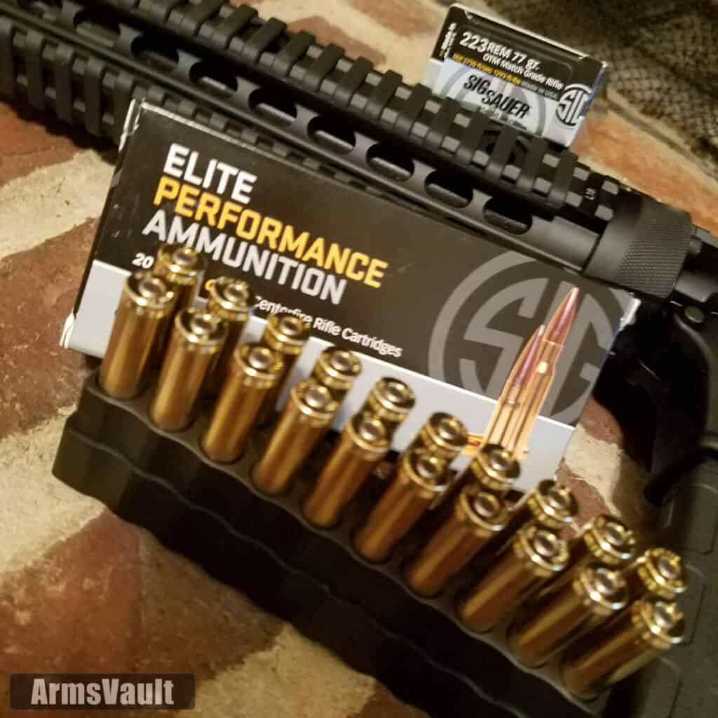 Sig Sauer 223 Rem 77gr OTM Match Grade Ammunition