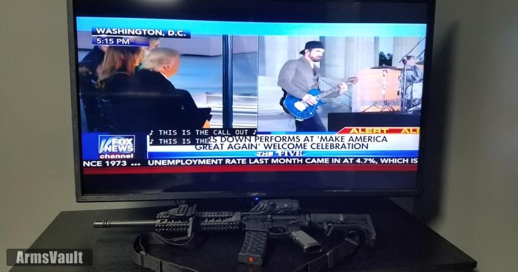 3 Doors Down at Make America Great Again Celebration