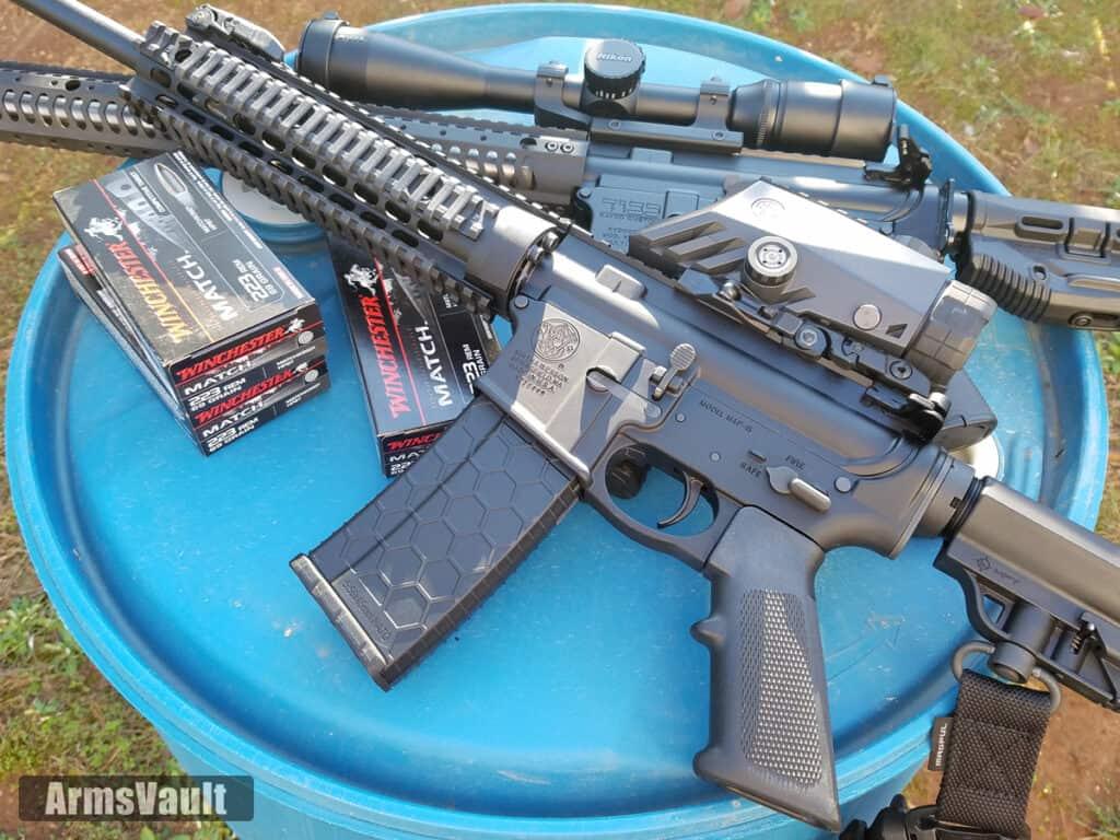 AR-15 Rifles with Winchester Match 223 Ammunition