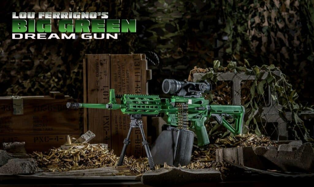 Brownells - Lou Ferrigno Big Green Dream Gun
