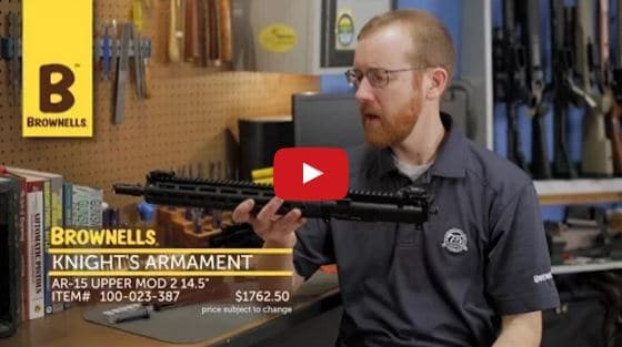 Knights Armament SR-15 E3 MOD 2 14.5 Upper at Brownells