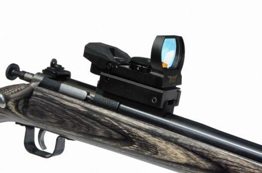 MSP Crickett Rifle Picatinny Short Base on Rifle