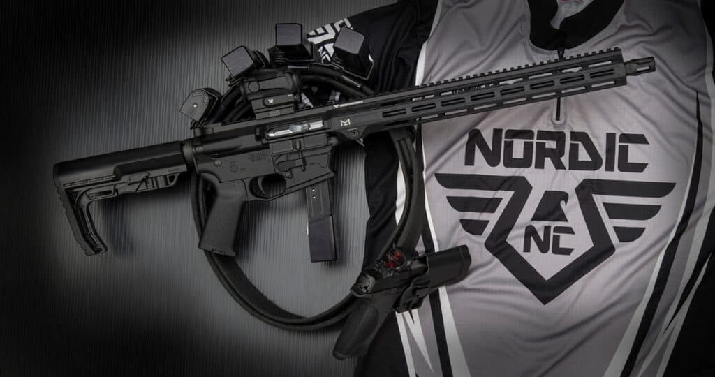 Nordic Components Modular Pistol Caliber Carbine
