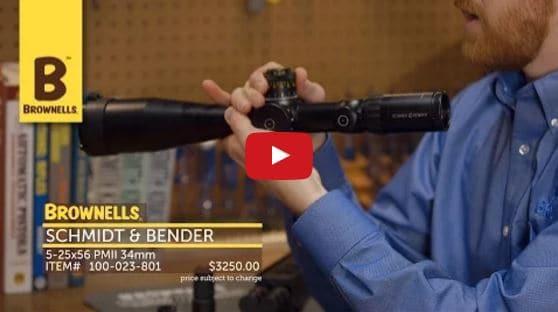 Schmidt Bender Scopes at Brownells