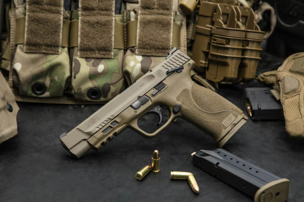 Smith Wesson MP M2_0 Pistol - FDE