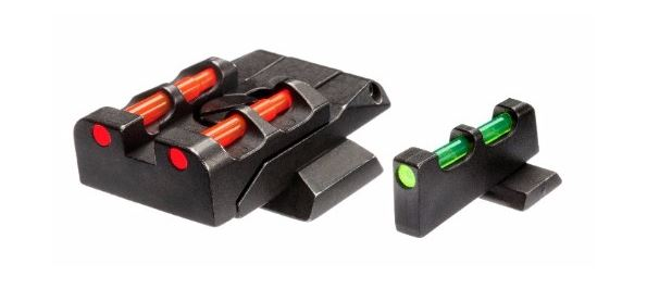 HIVIZ Adjustable Sight Set for Smith Wesson MP Pistols