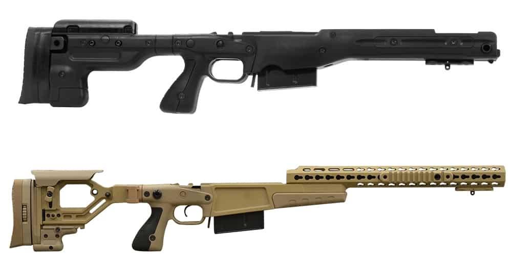Remington 700P Barreled Action-Chassis Kits