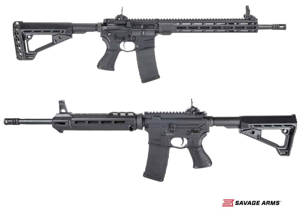 Savage Arms MSR 15 Recon and MSR 15 Patrol