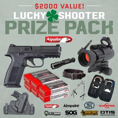 Aguila Ammunition Lucky Shooter Sweepstakes