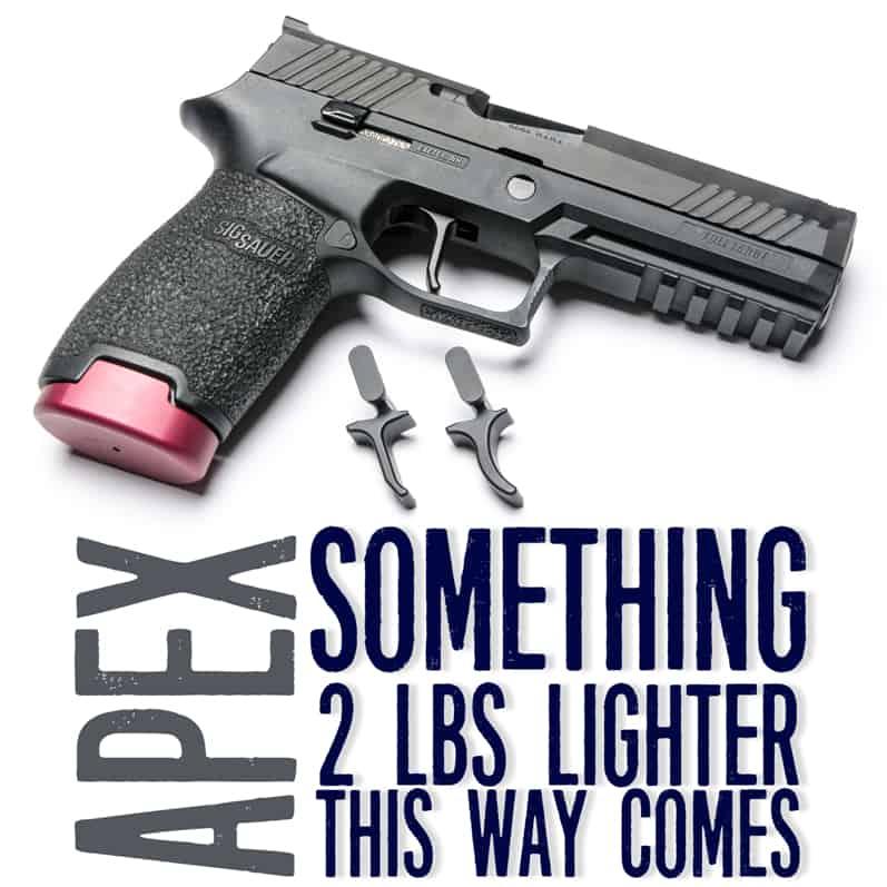 Apex Triggers for Sig Sauer P320 Pistols