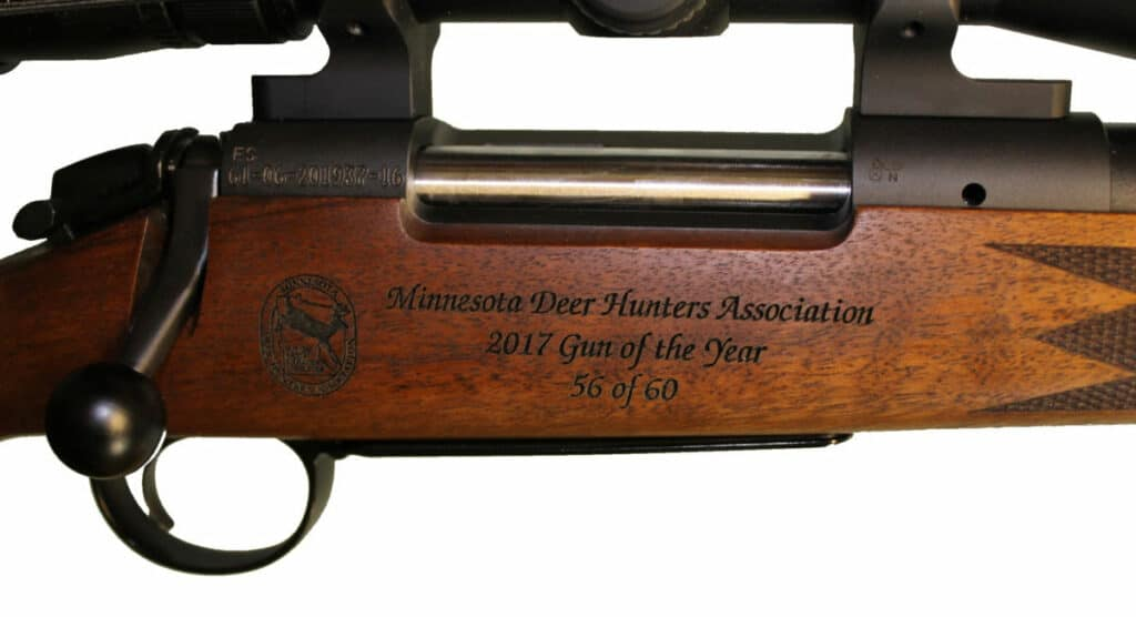 Bergara B14 Timber - Minnesota Deer Hunters Association