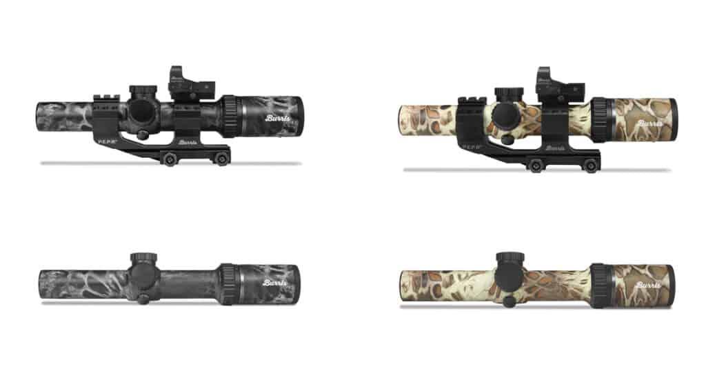 Burris MTAC Riflescopes in Prym1 Camo